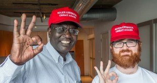 Donald Trump Invites Obama's Half-Brother  Malik to Final Debate