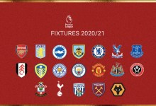 Photo of Premier League fixtures for the 2020/21