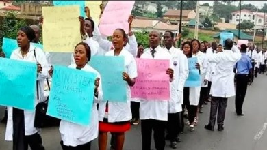 Photo of NIGERIAN DOCTORS STRIKE OVER PAY, PROTECTIVE GEAR