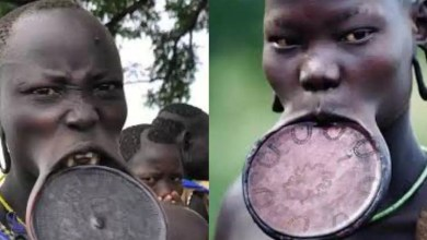 Photo of Why girls of Mursi tribe must remove their teeth and stretch their lips before they marry