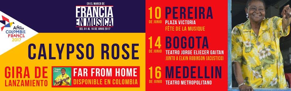 Calypso Rose llega a Colombia para su primera gira en América Latina
