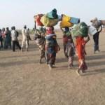 réfugiés nigérians quitte le camp de Minawao