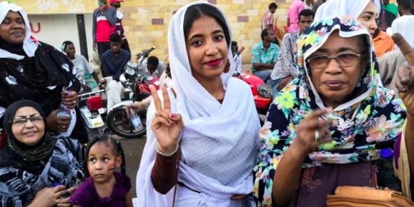'icône de la contestation au Soudan