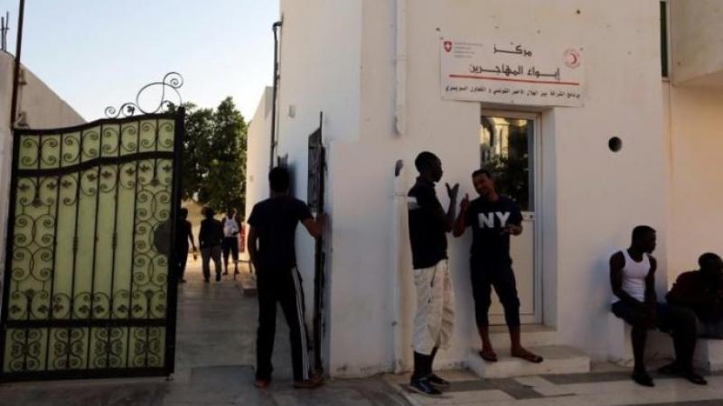 demandeurs d'asile en Tunisie