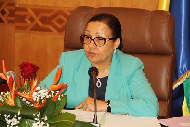 Gabon interim Ali