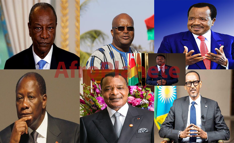 L'Afrique la fièvre du troisième mandat