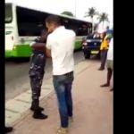 Côte d'Ivoire Dérive un homme de race blanche ose frapper un policier en pleine rue