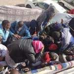 Tunisie - Sfax: Un camion transportant des subsahariens candidats à l'immigration a été arrêté
