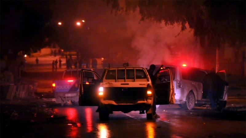 Tunisie - Sbeitla : Affrontements entre manifestants et forces de l'ordre