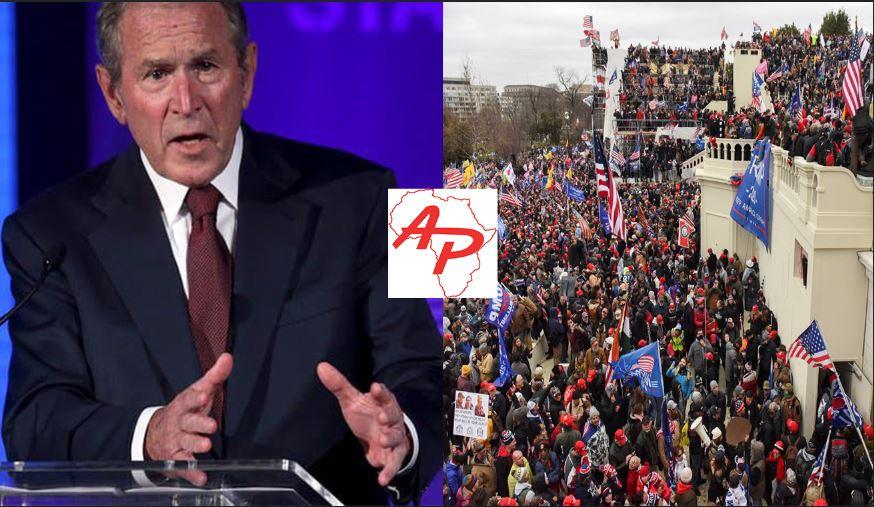 """Etats-Unis: Assaut du capitole: La réaction de George Bush """"pareille à une république bananière"""""""