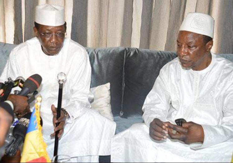Alpha Condé appelle les chefs d'Etat africains à suivre l'exemple d'Idriss Deby