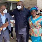 Côte d'Ivoire: Le président de l'UNG, Stephane Kipré est rentré d'exil à Abidjan (photos)