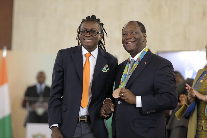 JO TOKYO 2020: Le président Alassane Ouattara félicite Ruth Gbagbi