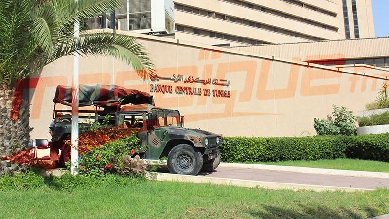 Tunisie: L'armée déployés aux alentours de la Banque Centrale