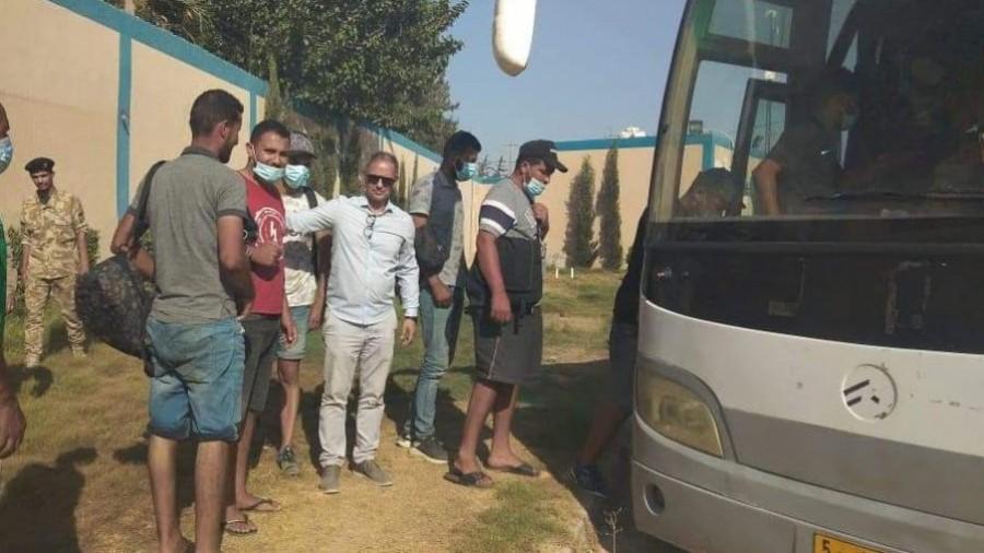 Rapatriement de 27 migrants irréguliers Tunisiens de la Libye
