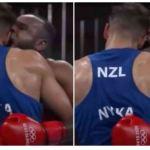 L'athlète Marocain, Youness Baala s'est illustré de manière maladroite aux JO 2020 en tentant de mordre son adversaire en plein combat de boxe.