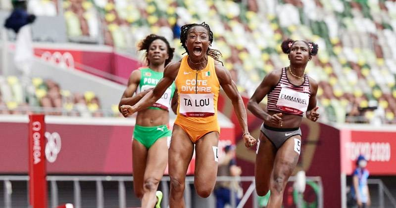 JO de Tokyo: l'ivoirienne Marie Josée Ta Lou qualifiée pour la finale du 200m
