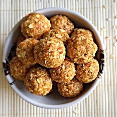 No bake rolled oats power bites