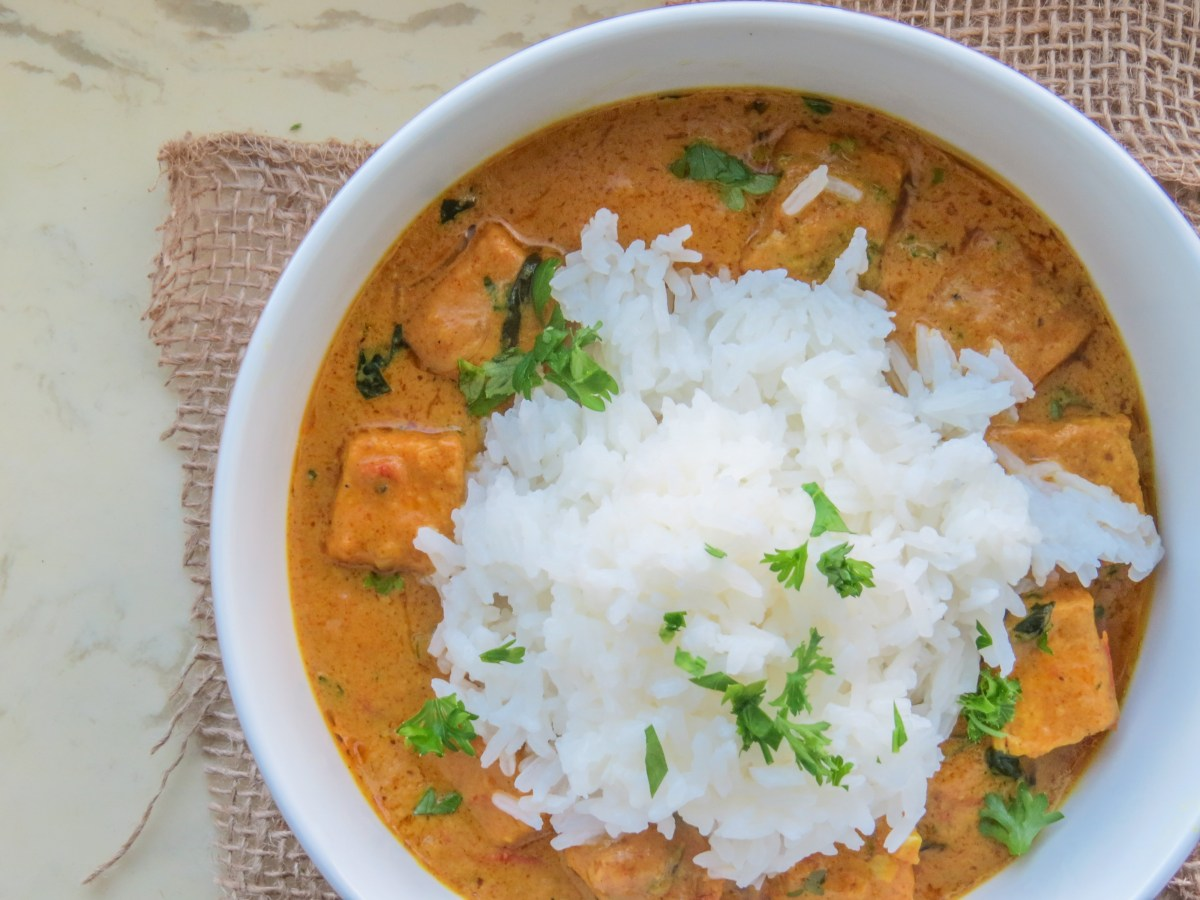West African Peanut Curry with Tofu