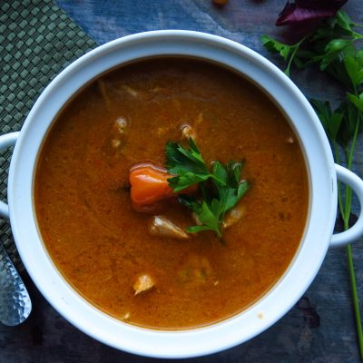 Simple Spicy Chicken Pepper Soup