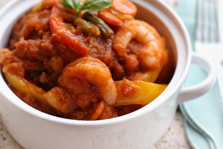 Cameroon Hot Pot Potatoes