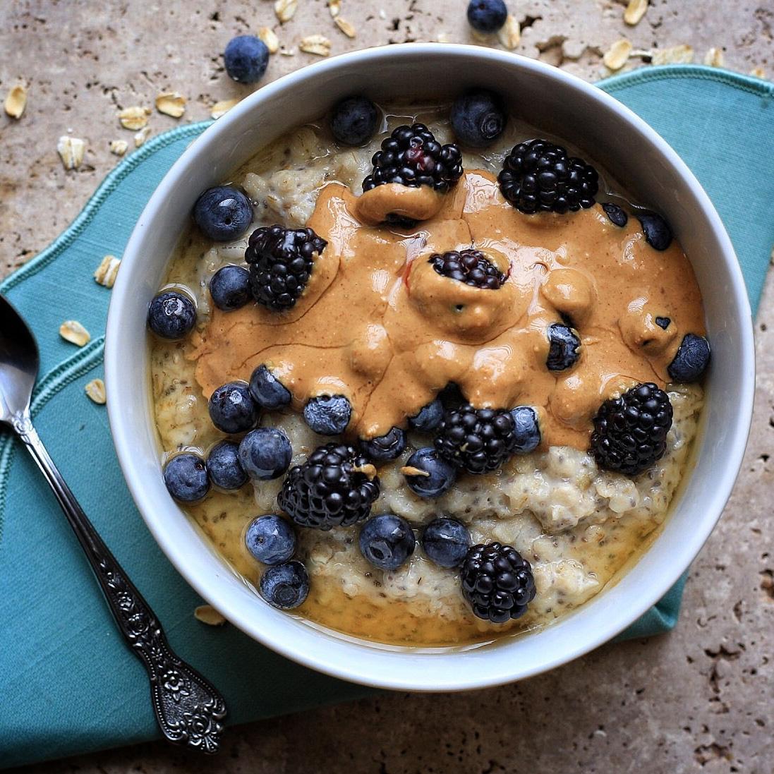 Loaded breakfast Oatmeal Bowl