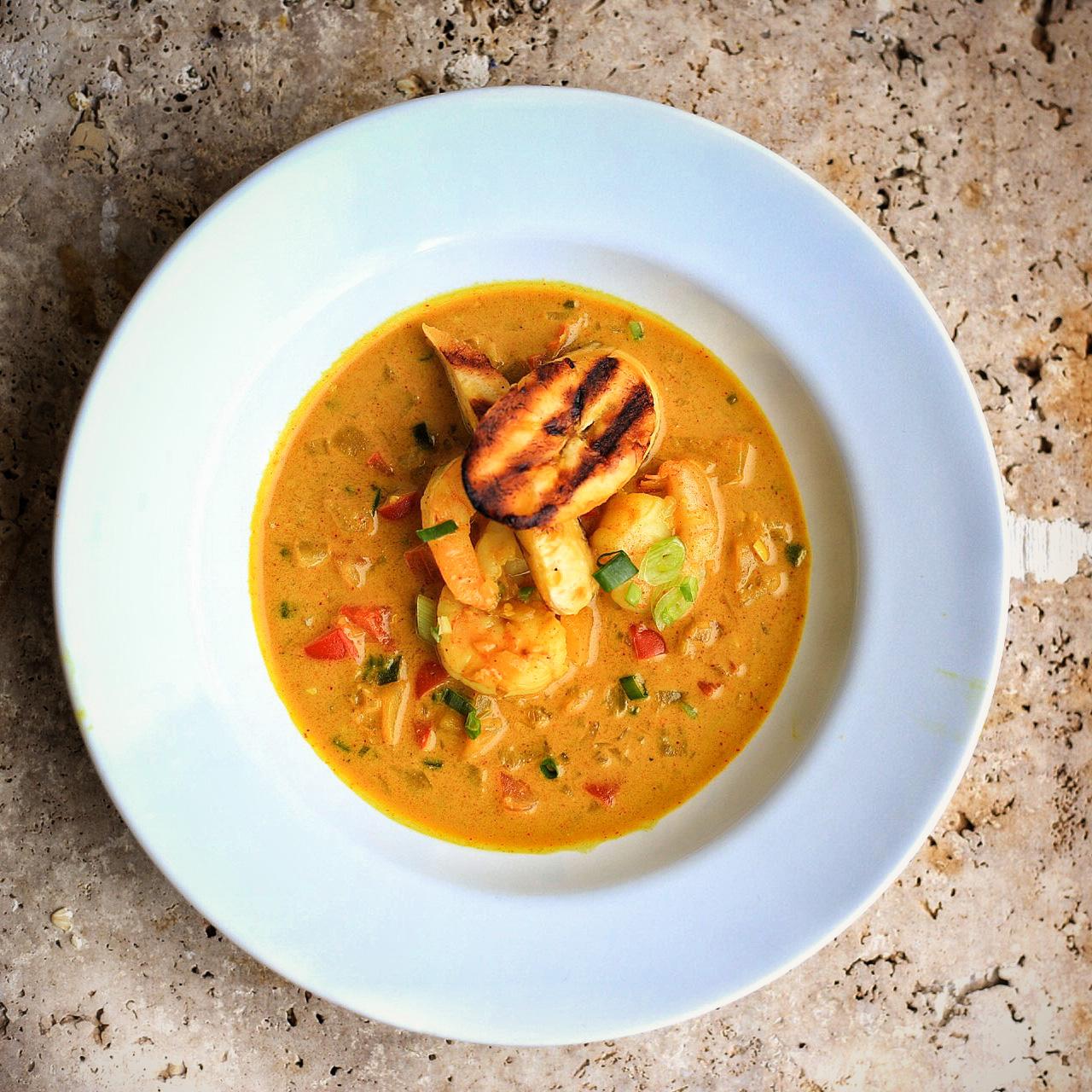 Caribbean Shrimp Curry