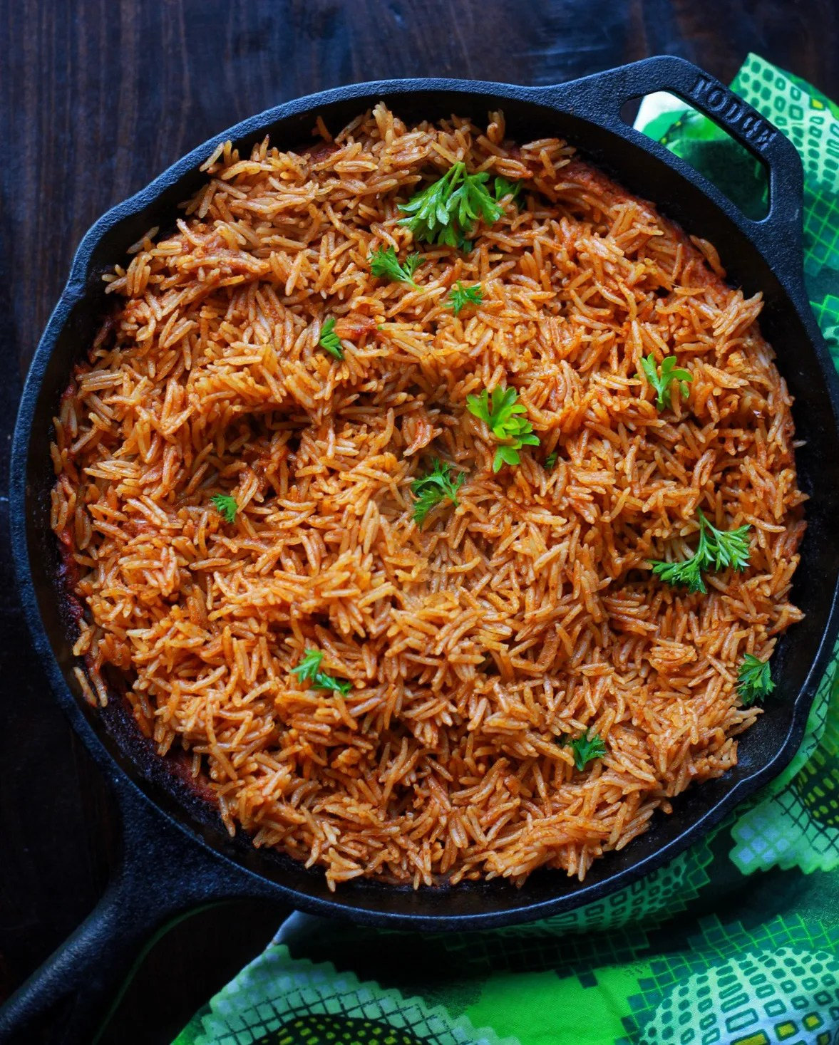 how to cook jollof rice in the oven