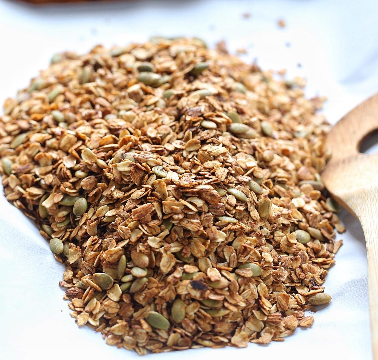 Stove top granola recipe with molasses