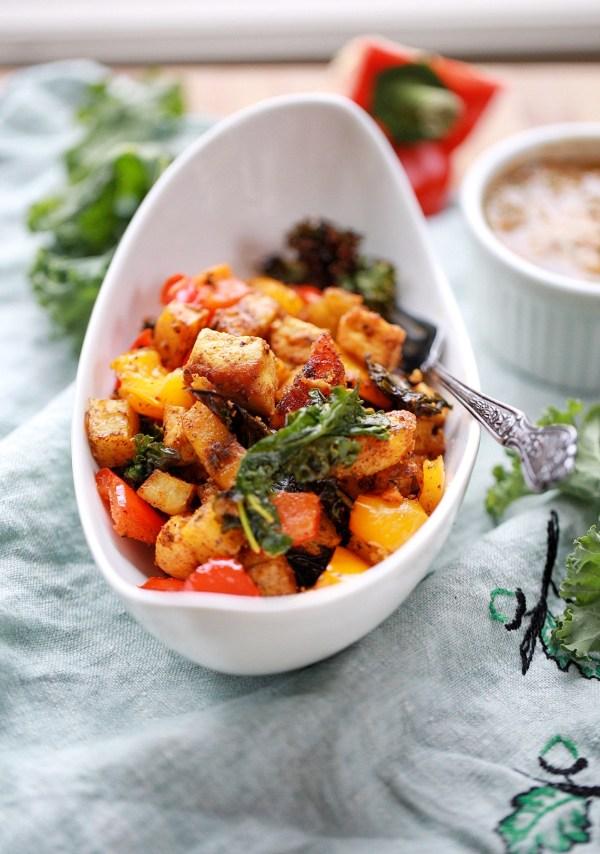 sweet potato and plantain bake