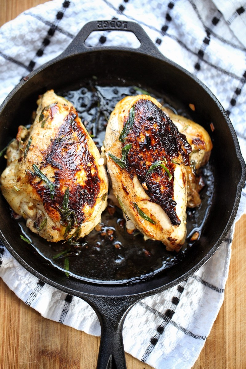 Tarragon coconut lime chicken