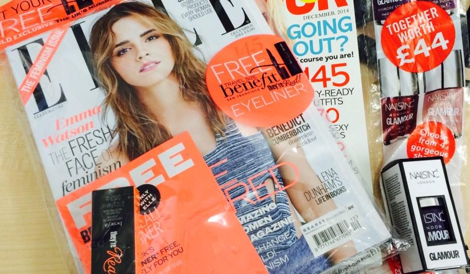 December Magazine Freebies