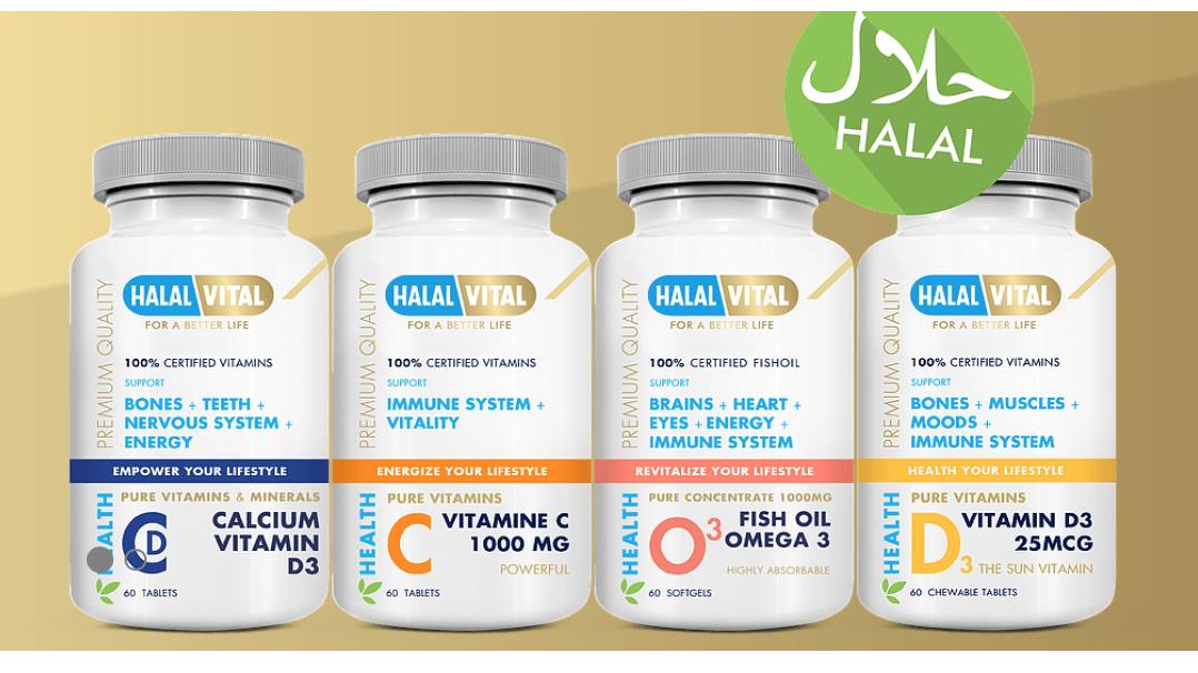 HalalVital, Halal Vitamins