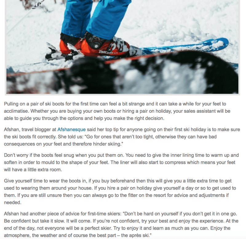 Ski Travel Feature