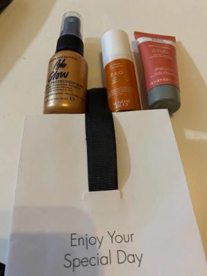 Space NK Birthday Gift