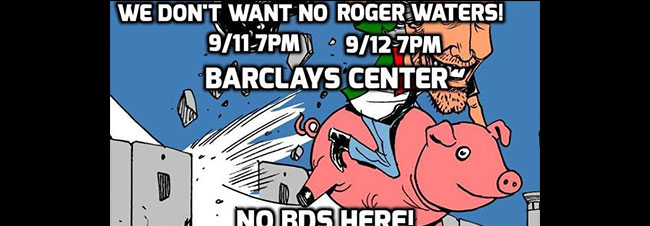 Say NO to Roger Waters!