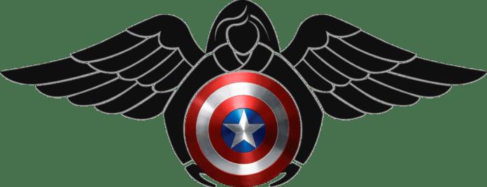 Pararescue Captain America shield