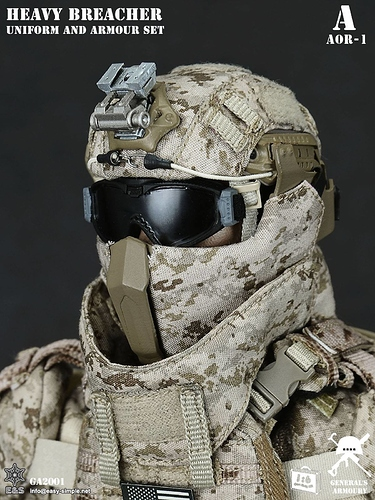 Gunsight Mandible Ops Core Helmets Armed Figures