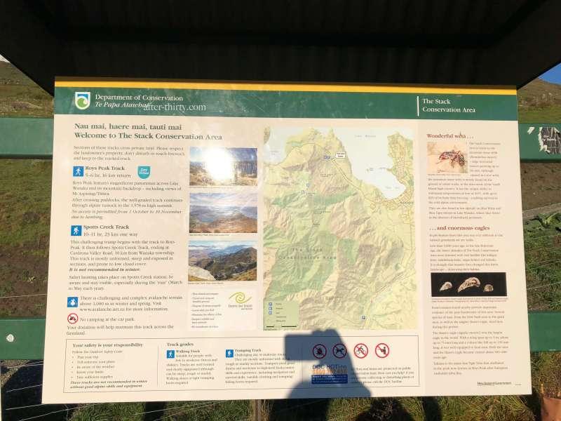 瓦納卡Roys Peak Track