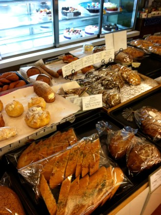 Paris Baguette - coffee, pasteries, sandwiches, salads, cakes; kind of like ABP