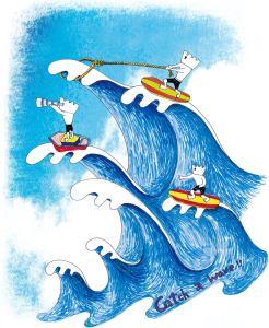 作品集_catch a wave