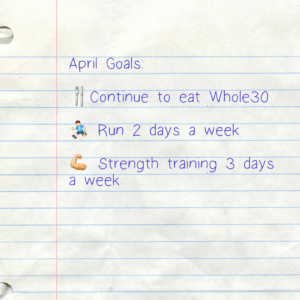 Ending Whole30 and April Recap