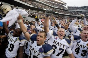 Navy celebrated yet another win in the rivalry last year, and they'll be heavily favored going into this year's contest.