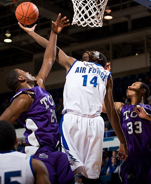 TCU Air Force Basketball