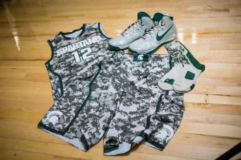 MSU uniforms