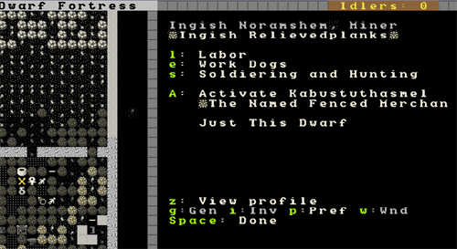 "The Complete and Utter Newby Tutorial for Dwarf Fortress - Part 6: ""Dwarf Resource Management"" (3/6)"