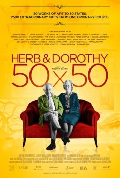 HerbAndDorothy50x50Poster