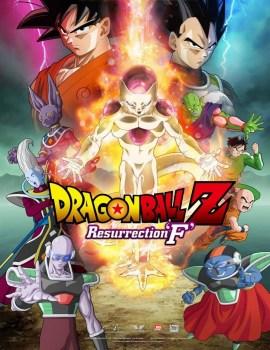 DragonBallZResurrectionFPoster
