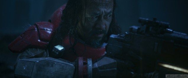 Rogue One: A Star Wars Story Baze Malbus (Jiang Wen) Ph: Film Frame ILM/Lucasfilm ©2016 Lucasfilm Ltd. All Rights Reserved.