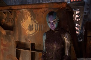 Guardians Of The Galaxy Vol. 2 Nebula (Karen Gillan) Ph: Chuck Zlotnick ©Marvel Studios 2017